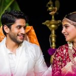 Samantha Akkineni With Husband Marriage Image