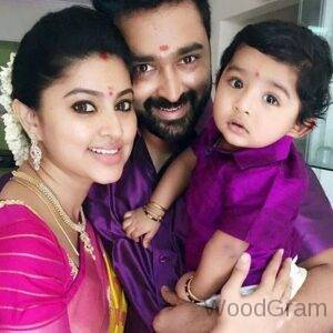 Sneha Telugu Actress With Husband And Child