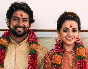 Bhavana With Her Husband