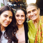 Sonam Bajwa With Family Members