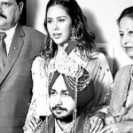 Sonam Bajwa With Parents