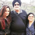 Mona Singh Parents - Father And Mother