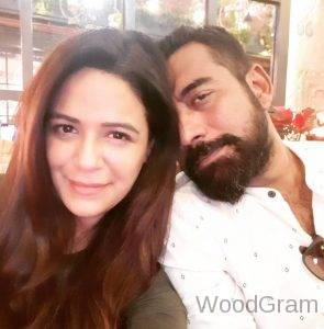 Mona Singh With Her Husband