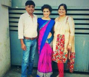 Kriti Kharbanda Family - Father And Mother