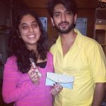 Kunal Jaisingh With His Sister