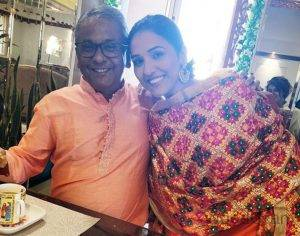 Neeti Mohan Father