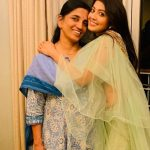 Pranitha Subhash With Her Mother