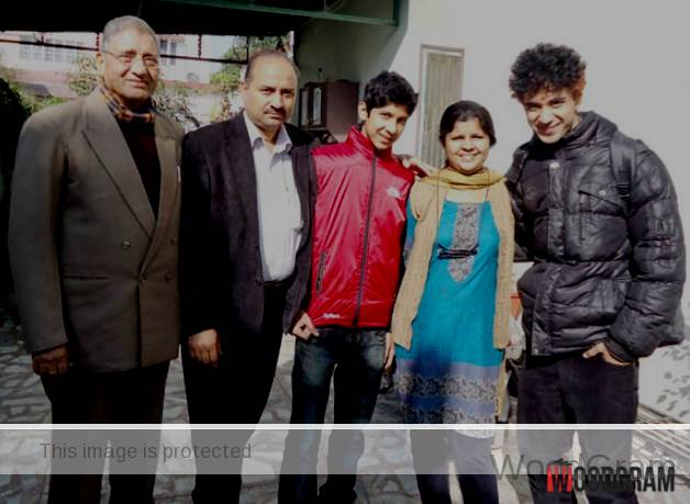 Raghav Juyal Parents - Father, Mother, And Brother