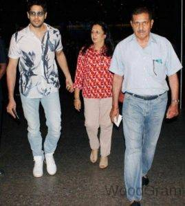 Sidharth Malhotra Parents - Father And Mother