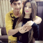 ankita dave with brother