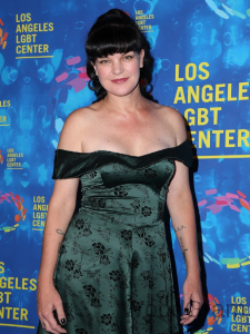 Actress Pauley Perrette