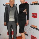 American television actress Ellen Degeneres & Portia De Rossi