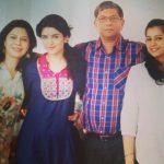 Deeksha Seth Family - Parents And Sister