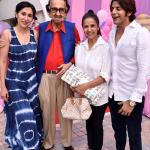 Karanvir Bohra With Wife And Stars