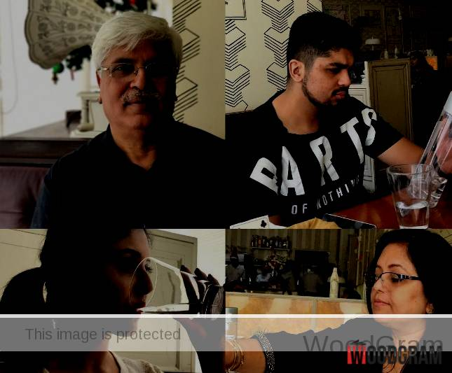 Kritika Kamra Family - Father, Mother And Brother