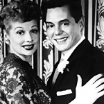 Lucille Ball and Desi Arnaz American television meet