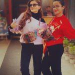 Rubina Dilaik With Her Sister