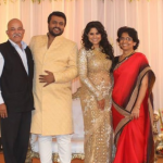 Sai Tamhankar With Husband, Father And Mother
