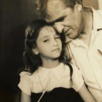Saumya Tandon Childhood Image With Her Father