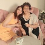Saumya Tandon With Her Mother