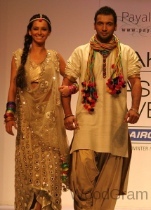 Shibani Dandekar and Punit Pathak