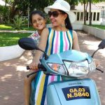 Shubhangi Atre With Her Daughter