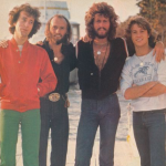Singer Andy Gibb With Robin, Maurice And Barry