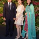 anjali tendulkar with Sara tendulkar and Sachin Tendulkar