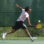 Akash Dadlani Playing Tennis