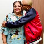 Akash Dadlani With His Mother