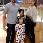 Amrita Arora With Husband And Children
