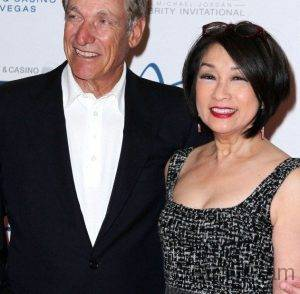 Connie Chung 2017 With Her Husband