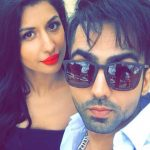 Hardy Sandhu With His Girlfriend