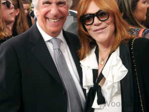 Henry Winkler With His Wife