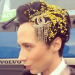 Johnny Weir Hair Style