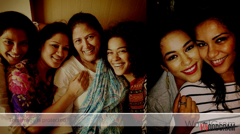 Mumaith Khan Family