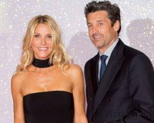 Patrick Dempsey and His Wife