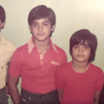 Sohail Khan With Brothers And Sister Childhood