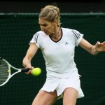 Steffi Graf In A Tennis Match