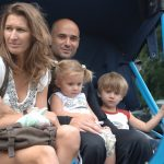 Steffi Graf With Husband And Kids