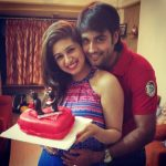 Vivian Dsena With His Wife