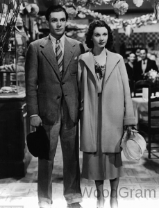 Vivien Leigh and Laurence Olivier love