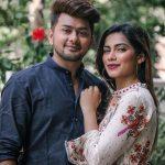 Awez Darbar With Girlfriend Nagma Mirajkar