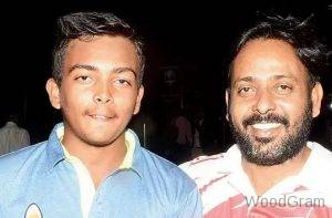 Prithvi Shaw With Father