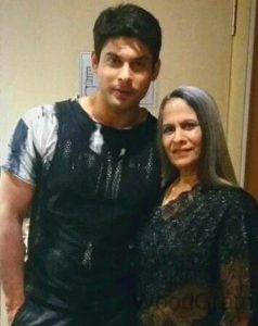 Siddharth-Shukla-Mother