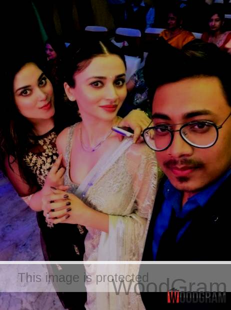 Ankita Srivastava With Her Brother And Sister