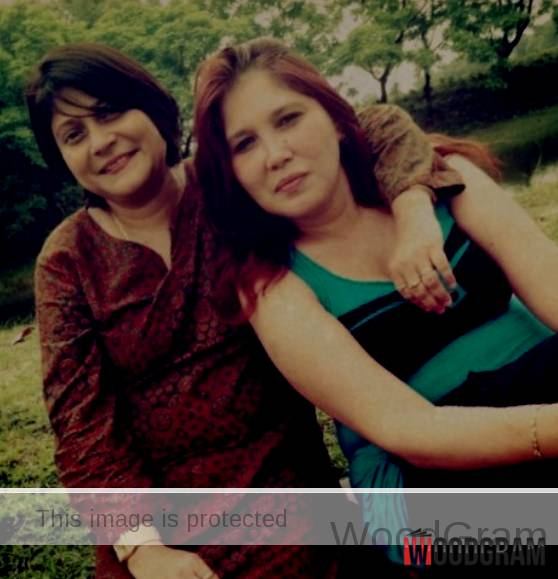 Anushka Mitra's Mother (Right) And Her Aunt (Left)