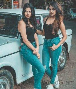 Ashi Singh With Her Sister