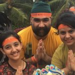 Ashnoor Kaur With Her Parents