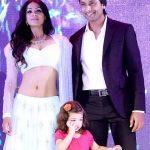 Barkha Sengupta And Indraneil Sengupta With Their Daughter